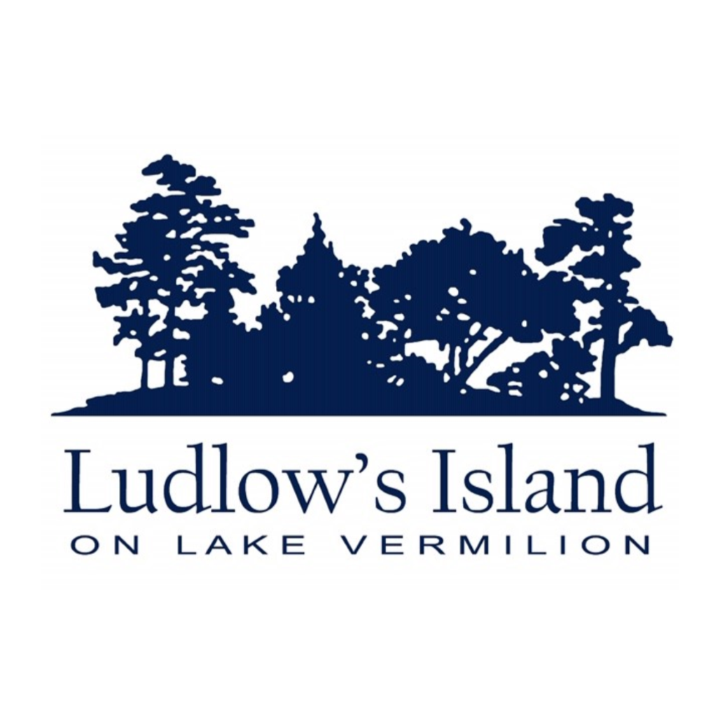 Ludlow's Island Resort on Lake Vermilion Logo