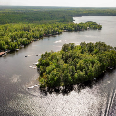 Ludlow's Island Resort on Lake Vermilion