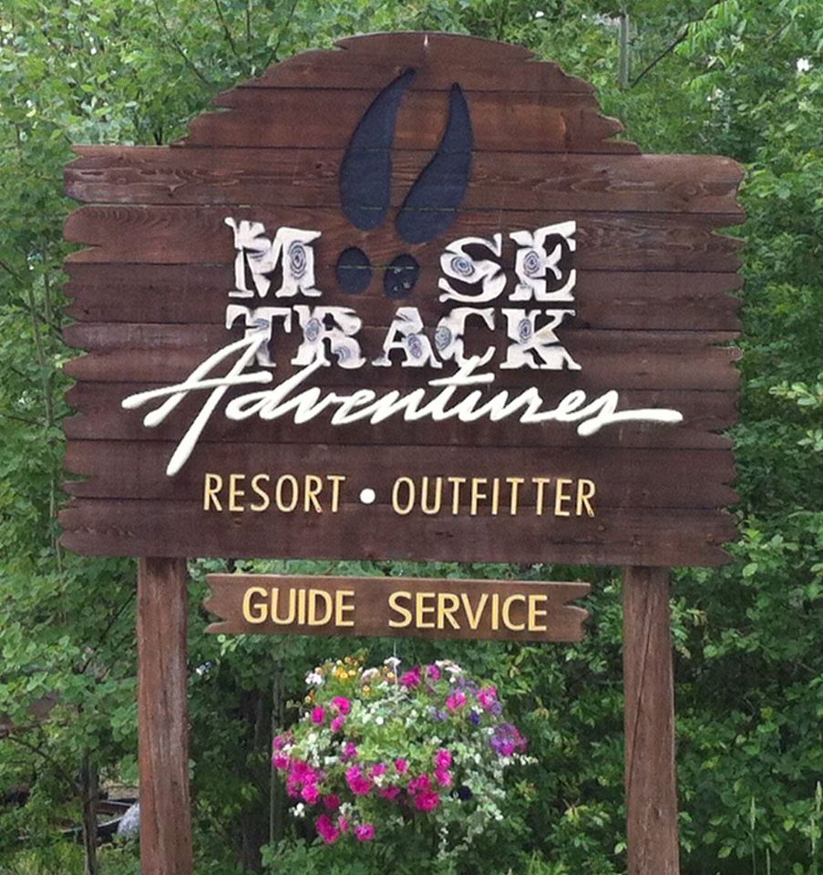 Moose Track Adventures Resort, Outfitter & Guide Service Logo