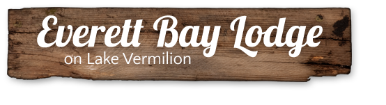 Everett Bay Lodge on Lake Vermilion Logo