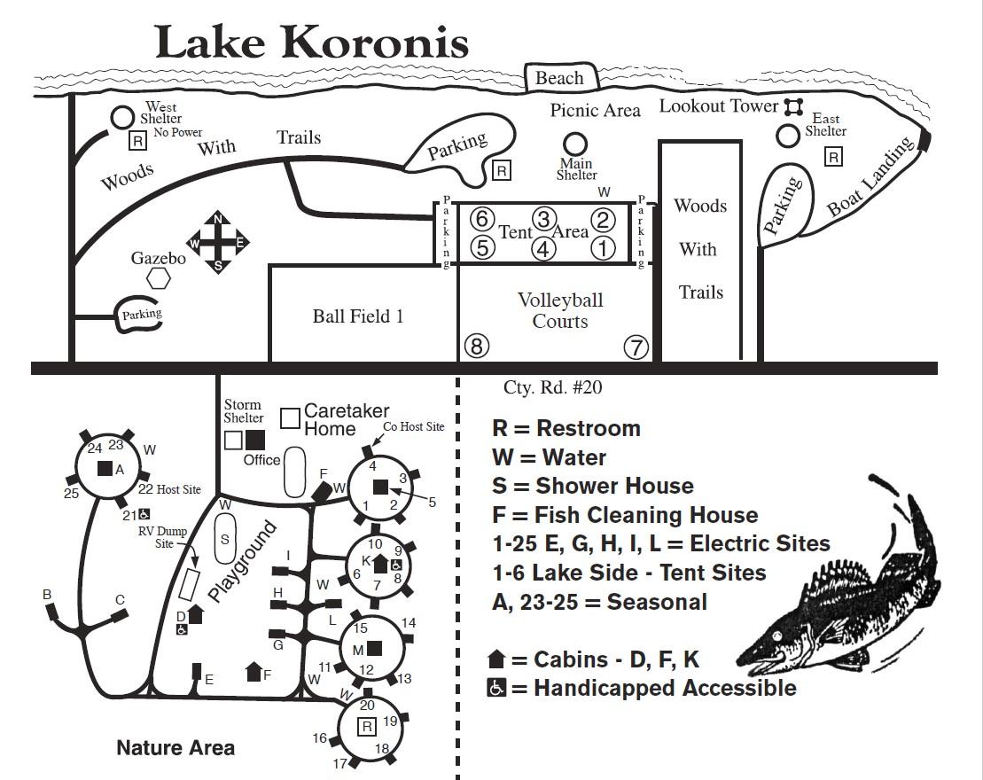 Koronis Regional Park Logo