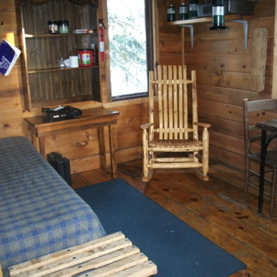 Bear Track Outfitting Co's. Bally Creek Cabins