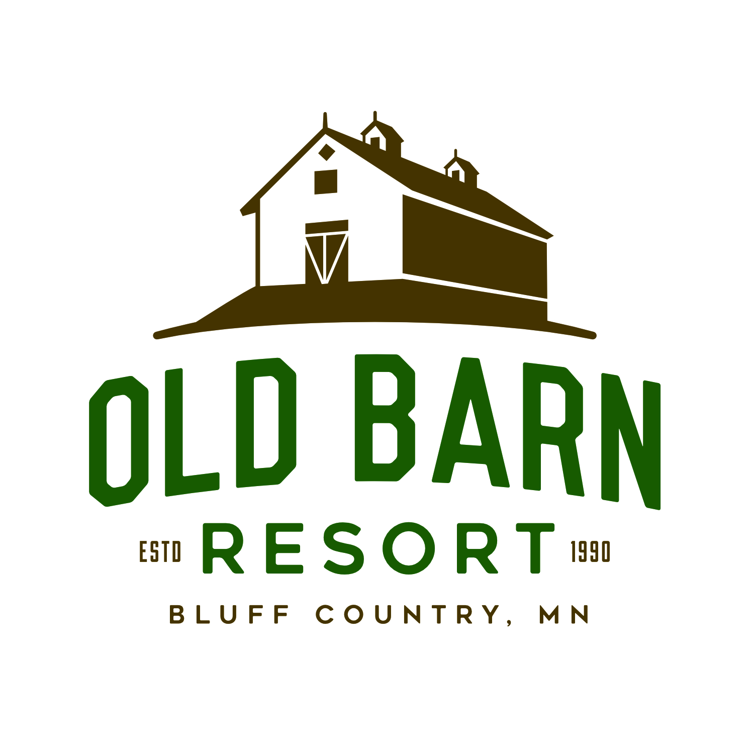 Old Barn Resort & Rivers Bend Golf Logo