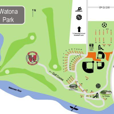 Watona Park Map