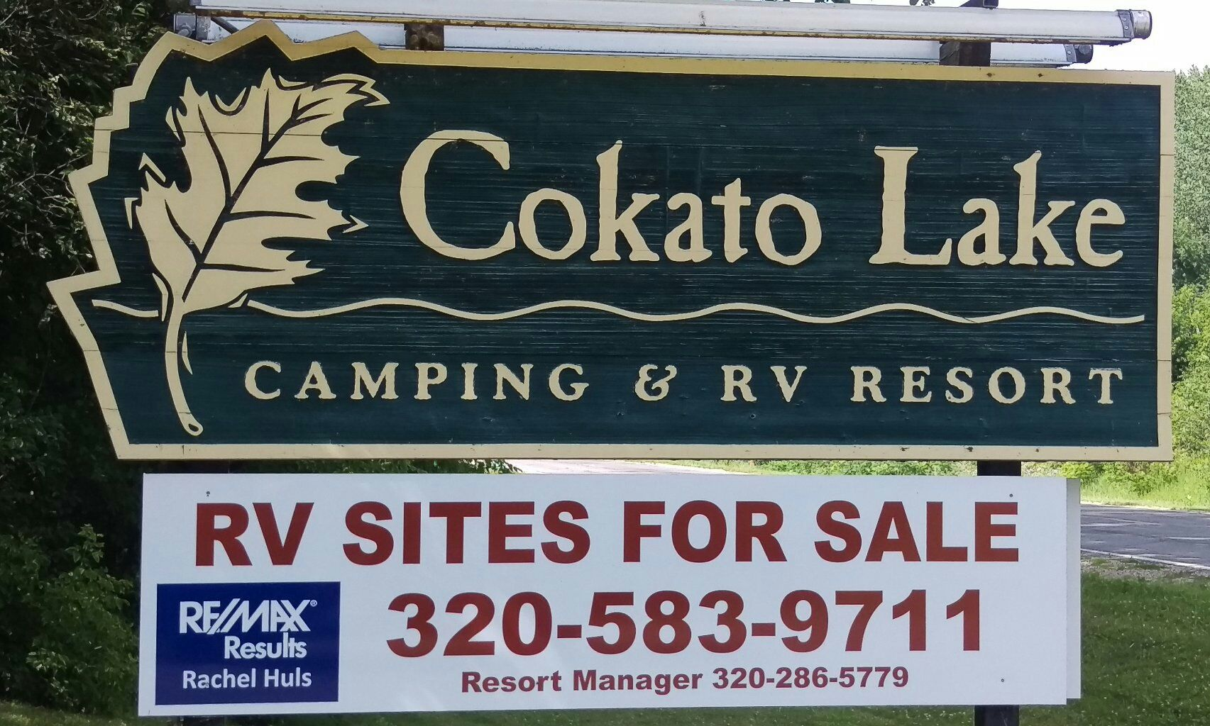 Cokato Lake RV Resort Logo