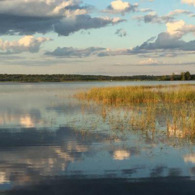Gorgeous lake scenes.