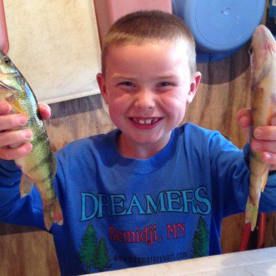Kids love the panfish.