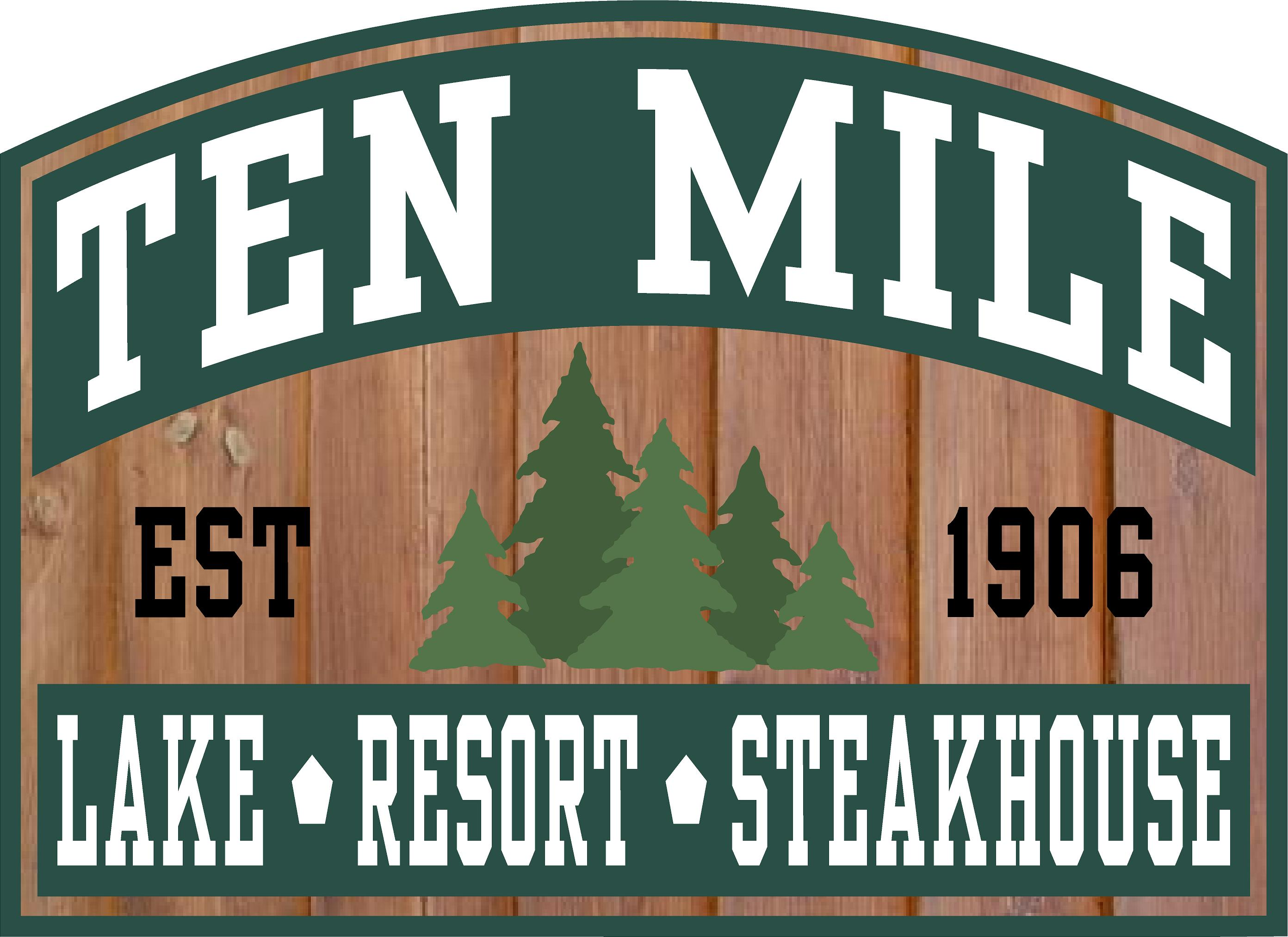 Ten Mile Lake Resort Logo